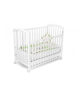 Детско дървено легло Mirta - бяло