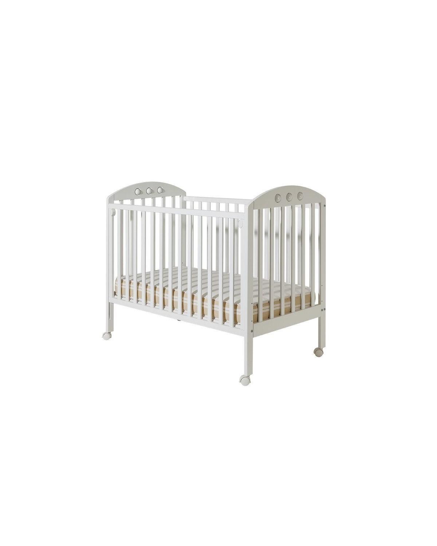 Детско дървено легло Буцко - Nora бяло без чекмедже